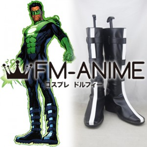 DC Green Lantern Kyle Rayner Cosplay Shoes Boots #C882