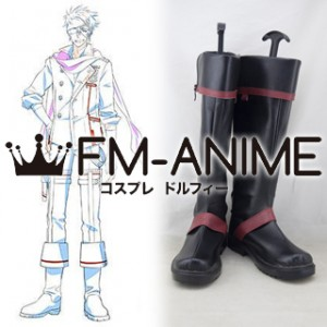 D.Gray-man Hallow Lavi Cosplay Shoes Boots #C887