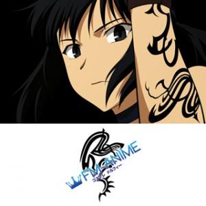 Canaan Alphard Alshua Cosplay Tattoo Stickers