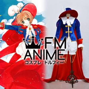 Card Captor Sakura Sakura Kinomoto Prince Cosplay Costume
