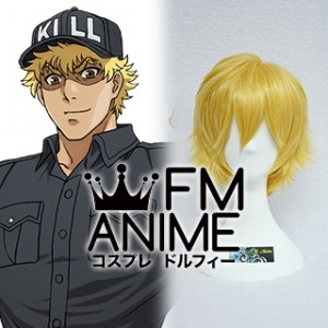 Cells at Work! Killer T Cell Cosplay Wig