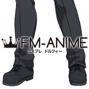 Cells at Work! Killer T Cell Black Cosplay Shoes