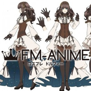 Code: Realize Cardia Anime Ver. Dress Cosplay Costume