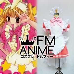 Tokyo Mew Mew Berry Shirayuki Maid Dress Cosplay Costume