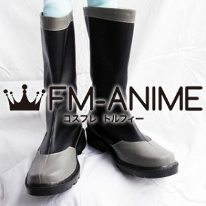 Mobile Suit Gundam 00 Military Uniform Cosplay Shoes Boots