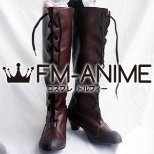 Durarara!! Izaya Orihara / Kanra (Female) Cosplay Shoes Boots