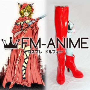 "Ludwig Kakumei ""Red Riding Hood"" Lisette Cosplay Shoes Boots"