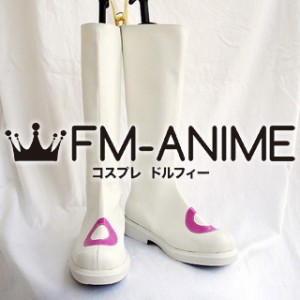 Puella Magi Madoka Magica Kyubey Personified Cosplay Shoes Boots