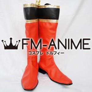 Super Sentai Series Mahou Sentai Magiranger Kai Ozu / Magired Cosplay Shoes Boots