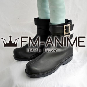 Hitman Reborn! Superbi Squalo +10 Cosplay Shoes Boots