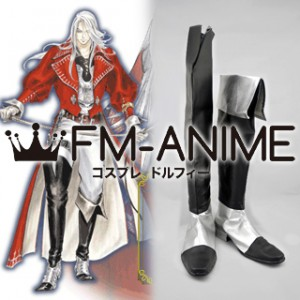 Castlevania: Harmony of Dissonance Juste Belmont Cosplay Shoes Boots