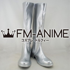 AKB48 Cosplay Shoes Boots (Silver)