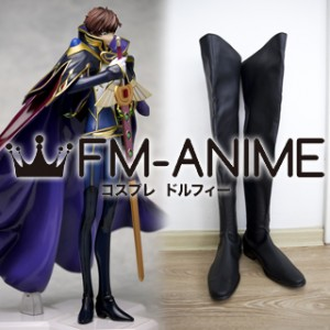Code Geass: Lelouch of the Rebellion R2 Suzaku Kururugi Knight of Zero Cosplay Shoes Boots