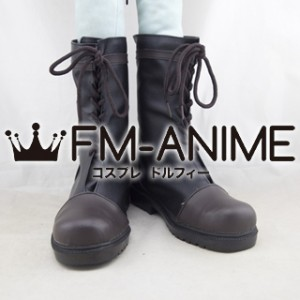 Black Butler Ciel Phantomhive Cosplay Shoes Boots #D246