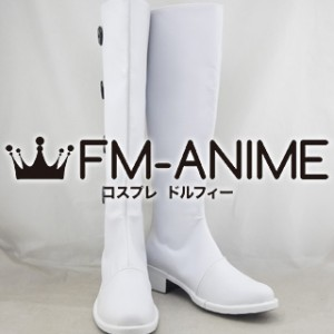 Axis Powers Hetalia Elizaveta Hedervary (Hungary) Military Uniform (Male Version) Cosplay Shoes Boots #D252