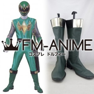 Super Sentai Series Ninpuu Sentai Hurricanger Shurikenger Cosplay Shoes Boots #D258