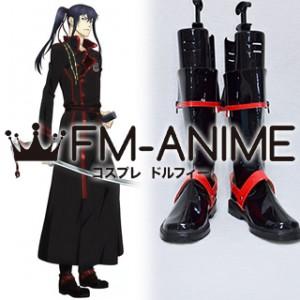 D.Gray-man Hallow Yu Kanda Cosplay Shoes Boots