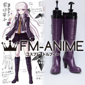 Danganronpa: Trigger Happy Havoc Kyoko Kirigiri Cosplay Shoes Boots (Game Version)