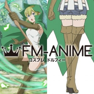 Is It Wrong to Try to Pick Up Girls in a Dungeon? DanMachi Ryuu Lion Cosplay Shoes Boots
