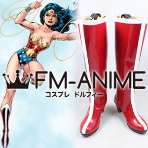DC Comics Wonder Woman Cosplay Shoes Boots