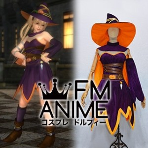 Dead or Alive 5 Ultimate Marie Rose Halloween 2014 Set DLC Cosplay Costume