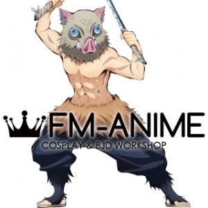 Demon Slayer: Kimetsu no Yaiba Inosuke Hashibira Trousers Cosplay Costume