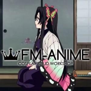 Demon Slayer Kimetsu no Yaiba Kochou Kanae Kimono Military Uniform Cosplay Costume
