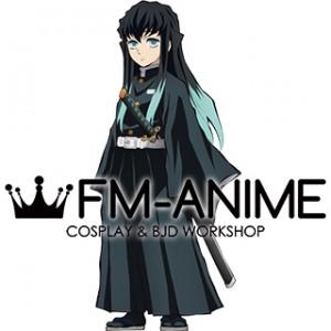 Demon Slayer: Kimetsu no Yaiba Muichiro Tokito Kimono Military Uniform Cosplay Costume
