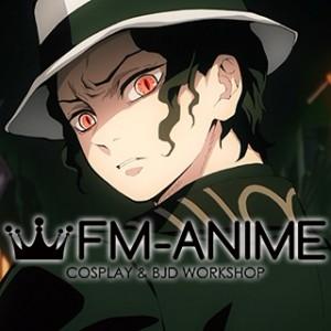 Demon Slayer: Kimetsu no Yaiba Muzan Kibutsuji Cosplay Wig
