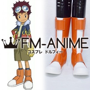 Digimon Adventure 02 Davis / Daisuke Motomiya Cosplay Shoes Boots