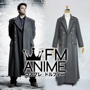 Doctor Who Torchwood Captain Jack Harkness Woolen Coat Cosplay Costume