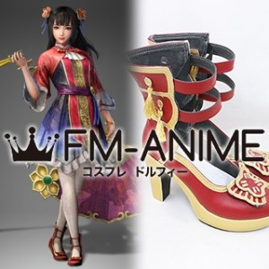 Dynasty Warriors 9 Da Qiao Cosplay Shoes Boots
