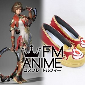 Dynasty Warriors 9 Sun Shangxiang Cosplay Shoes