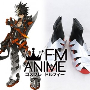 Elsword Raven Cronwell Reckless Fist Cosplay Shoes Boots