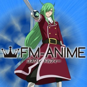 Fairy Tail Freed Justine Cosplay Costume