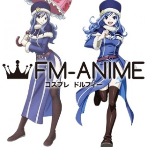 Fairy Tail Juvia Lockser Cosplay Shoes Boots