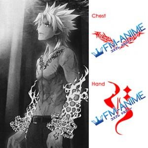 Fate/Apocrypha Shirou Kotomine Cosplay Tattoo Stickers