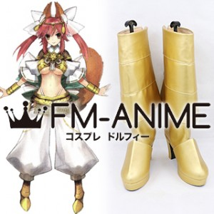 Fate/Extra Caster Tamamo no Mae Goddess Form Cosplay Shoes Boots