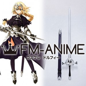 Fate/Apocrypha Fate/Grand Order Jeanne d'Arc Ruler Sword Scabbard Cosplay Weapon Prop