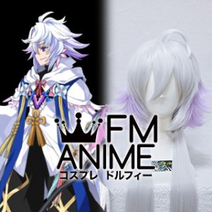 Fate/Grand Order Merlin Caster Cosplay Wig