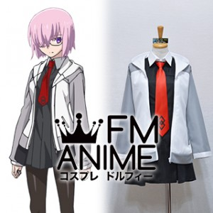 Fate/Grand Order Shielder Mashu / Matthew Kyrielite Uniform Cosplay Costume