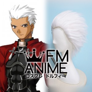 Fate/stay night Archer White Cosplay Wig