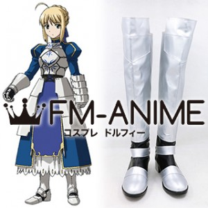 Fate/stay night Saber Cosplay Shoes Boots