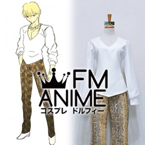 Fate/Zero Gilgamesh Archer Casual Cosplay Costume