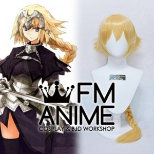 Fate/Apocrypha Fate/Grand Order Jeanne d'Arc Ruler Cosplay Wig