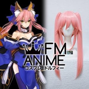Fate/Extra Fate/Grand Order Tamamo no Mae Caster Cosplay Wig