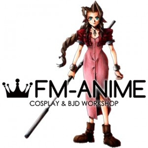Final Fantasy VII 7 Aerith Gainsborough Silver Guard Stick Staff Cosplay Prop Accessory