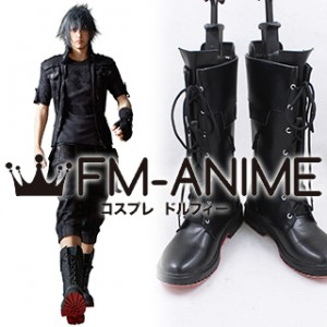 Final Fantasy XV / Final Fantasy Versus XIII Noctis Lucis Caelum Cosplay Shoes Boots