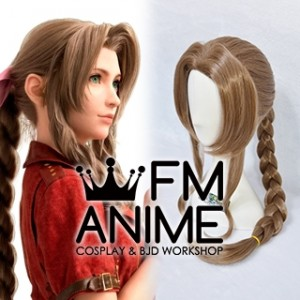 Final Fantasy VII Remake  FFVII R Aerith Cosplay Wig