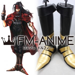 Final Fantasy VII Vincent Valentine Cosplay Shoes Boots